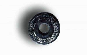 deksel romeinse inktpot _ Roman inlay inkpot