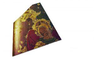 Glasscherf 16de eeuw