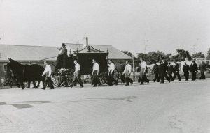 Begrafenis Driessen
