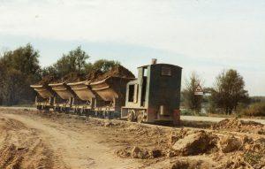 Steenfabriek treintje