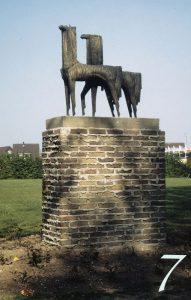 Mythische paarden Maris