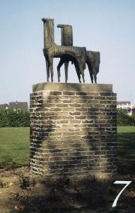 Mythische-paarden Dorpstraat