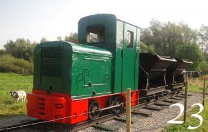 Locomotief Waaldijk